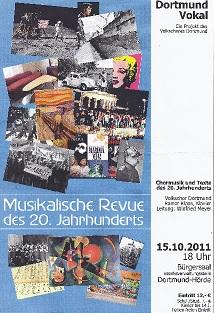 VolksChor Dortmund - Musikalische Revue