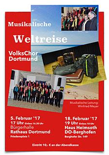 VolksChor Dortmund - Musikalische Weltreise