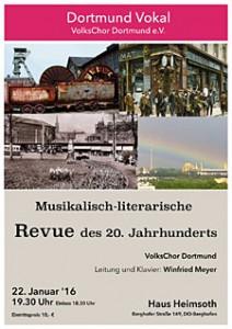 VolksChor Dortmund - Musikalisch-literarische Revue
